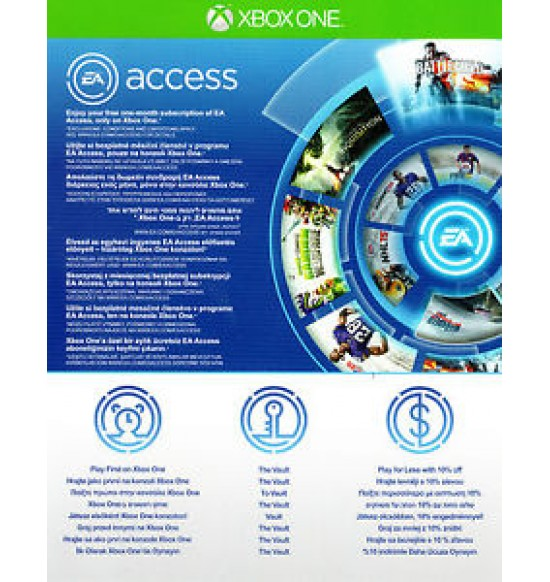 EA Access One Month Subscription Xbox One