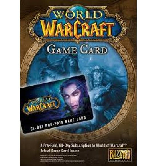 World of Warcraft 60 Days Prepaid Game Card - UK