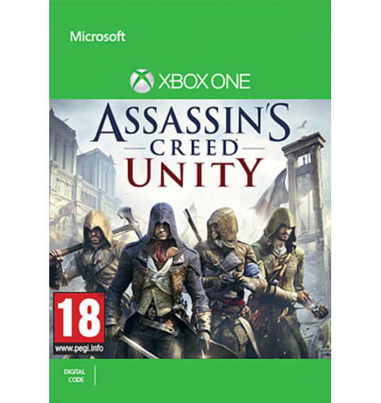 Assassin's Creed Unity - Xbox One - Full Game Download Code