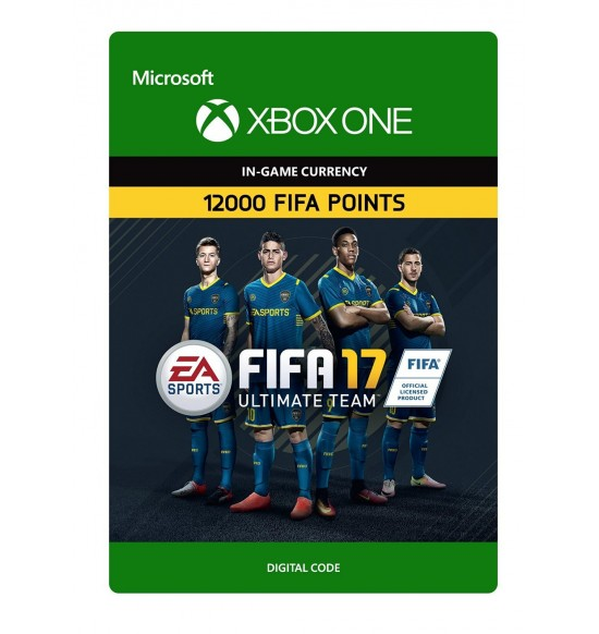 Fifa 17 Ultimate Team - 12000 Points (XBOX One UK Account)