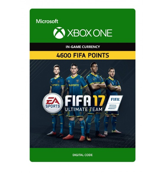 Fifa 17 Ultimate Team - 4600 Points (XBOX One UK Account)
