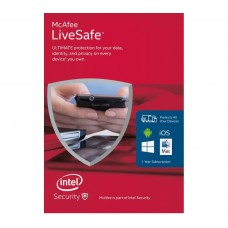 McAfee LiveSafe - Unlimited Devices (Windows / Mac / Android / iOS )