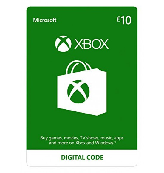 Microsoft XBOX Live Wallet Top Up £10 - UK Account