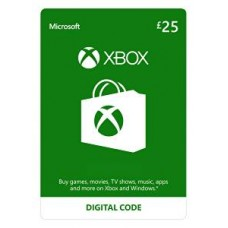 Microsoft XBOX Live Wallet Top Up £25 - UK Account